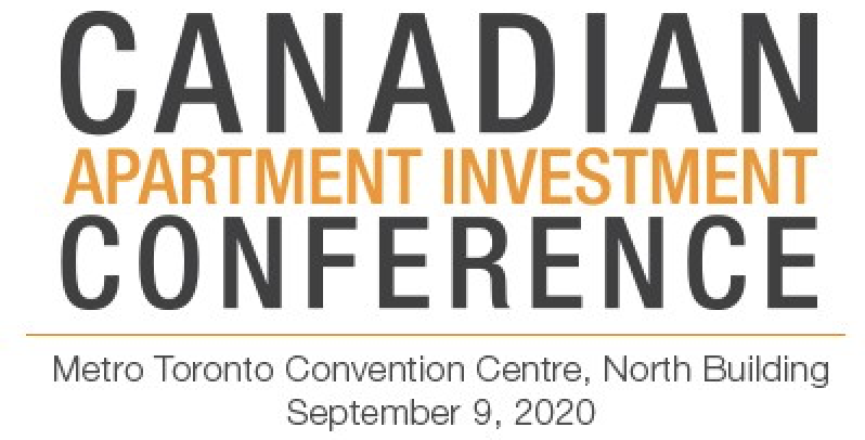 CANADIAN APARTMENT INVESTMENT CONFERENCE 2020